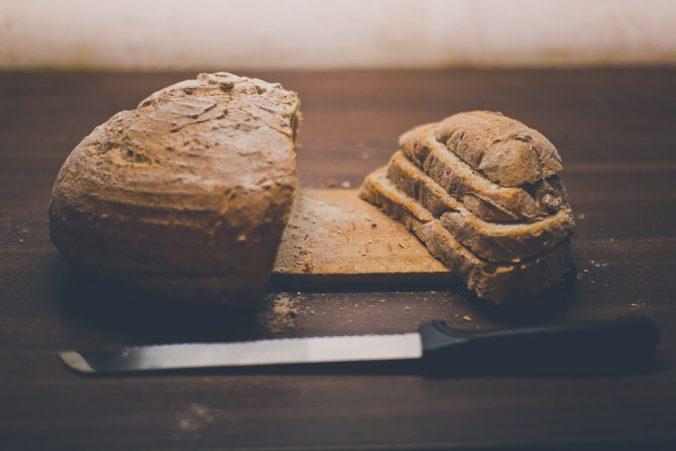 Nakrájaný chlebík