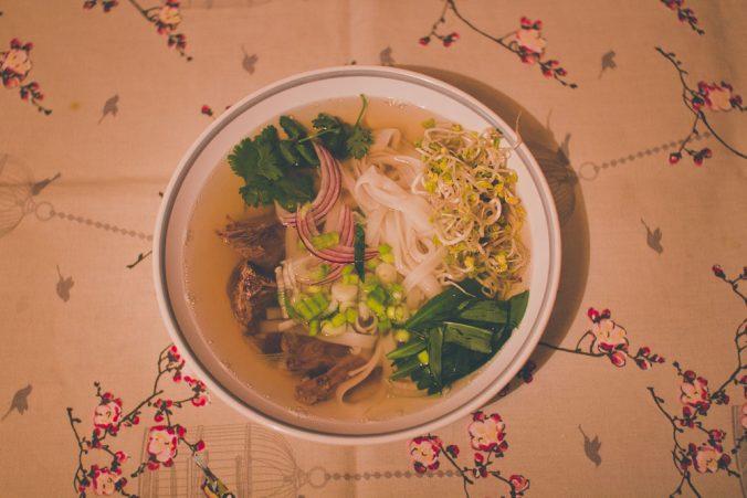 Pho Bo - Vietnamská hovädzia polievka