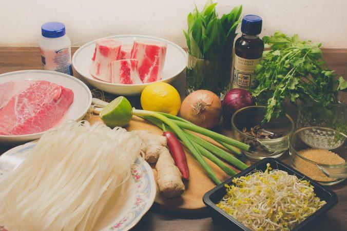 Prísady do vietnamskej polievky Pho Bo