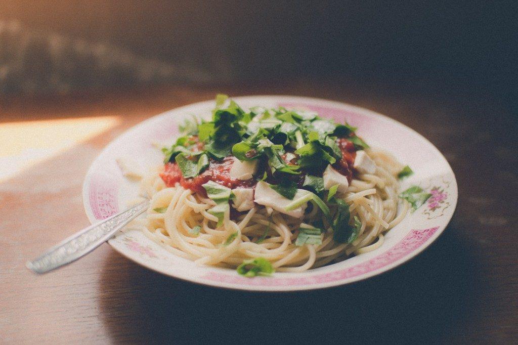 Recept na špagety s medvedím cesnakom